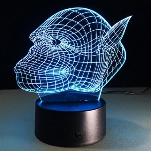 3D Gorilla 7 Color Touch ...