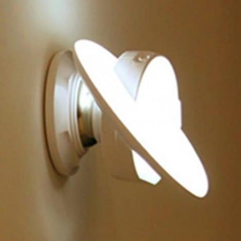UFO Rotating Body Sensor Night Light