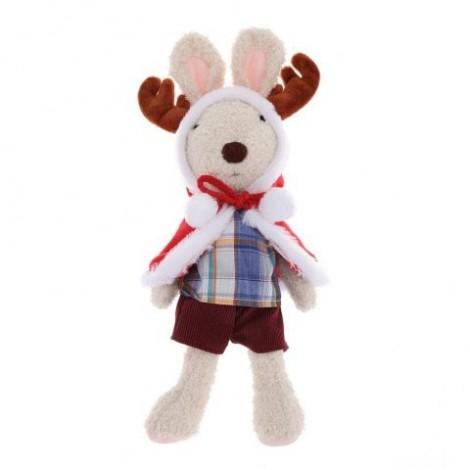 Stuffed Elk Plush Doll Toy Christmas Gift