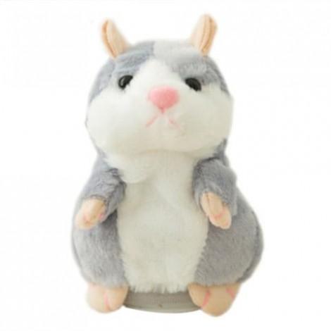 Novelty Cute Plush Recording Hamster Speak Talking Toy