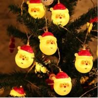 10LEDs 1.5m Santa Lights Holiday ...
