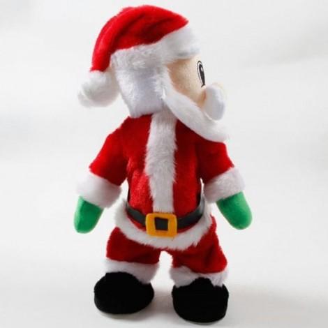 Christmas Decorations Electric Creative Twist Music Santa Claus Doll