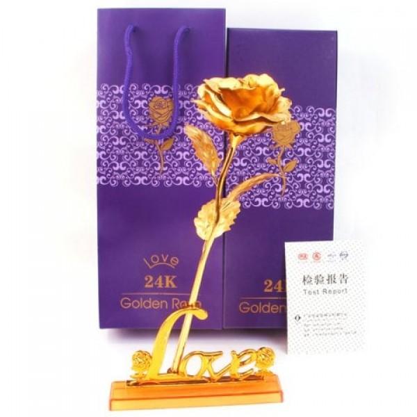 24K Valentine's Day Gift Gold ...