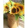 Home Decoration 7 Pcs Artificial Sunflowers