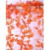 12 Pcs 2.3 Meters Home Decoration Artificial Maple Leaf Vines