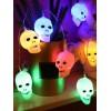 Halloween Decorative Skull LED Light String