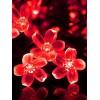 Outdoor Flower Shape Waterproof Solar String Lights