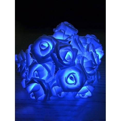 5 Meters Rose Flower Shape Decorative Wedding LED String Lights